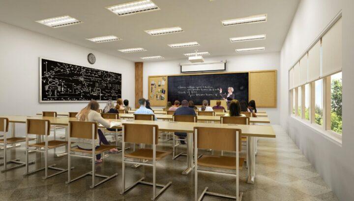 School and Classroom Lighting